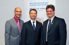 Pascal Kober MdB (Mitte) mit BdS-Vorsitzendem Stephan R. Wolf (rechts) und Martin Müller