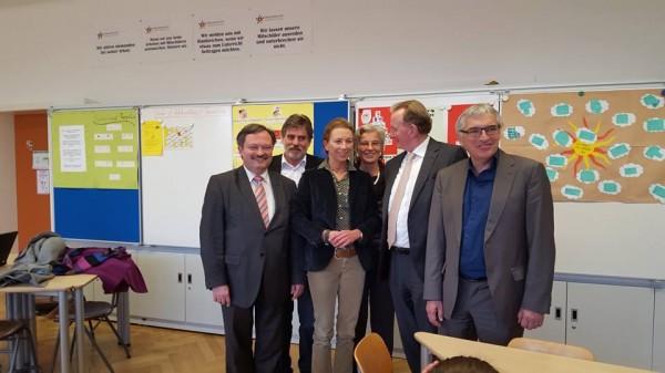 Stefanie Knecht besucht Philipp-Matthäus-Hahn-Gesamtschule Kornwestheim