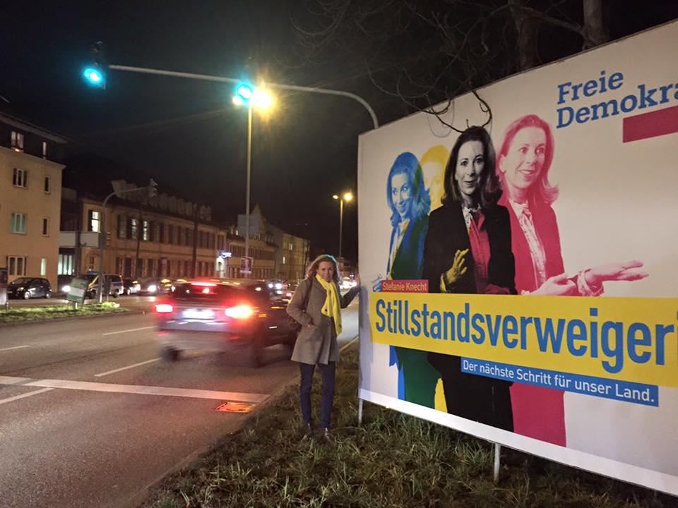 Stefanie Knecht, FDP, Stillstandsverweigerin
