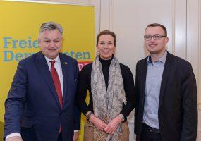 v.l. Michael Link, Stefanie Knecht, Marcel Dist