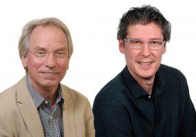 FDP-Stadträte Johann Heer (links) und Jochen Eisele