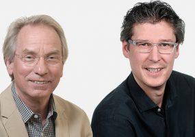 FDP Stadträte Johann Heer (links) und Jochen Eisele