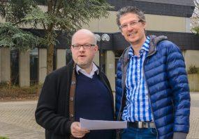 Jochen Eisele (re.) und Sebastian Haag
