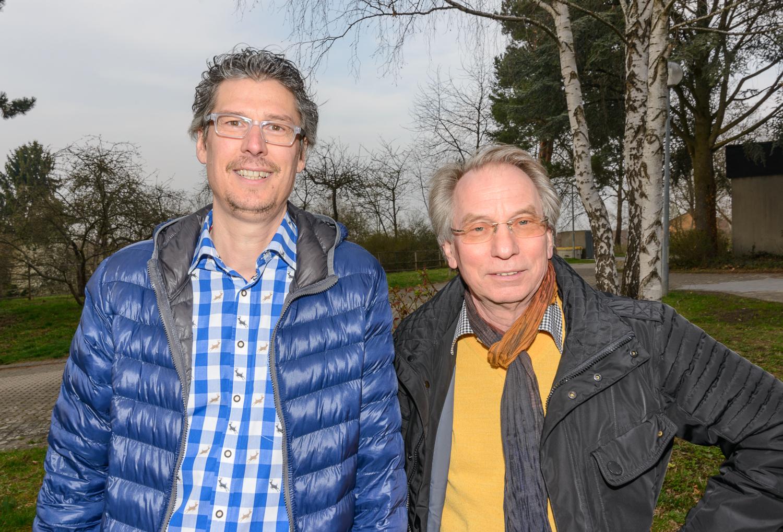 FDP-Stadträte Jochen Eisele (li.) und Johann Heer