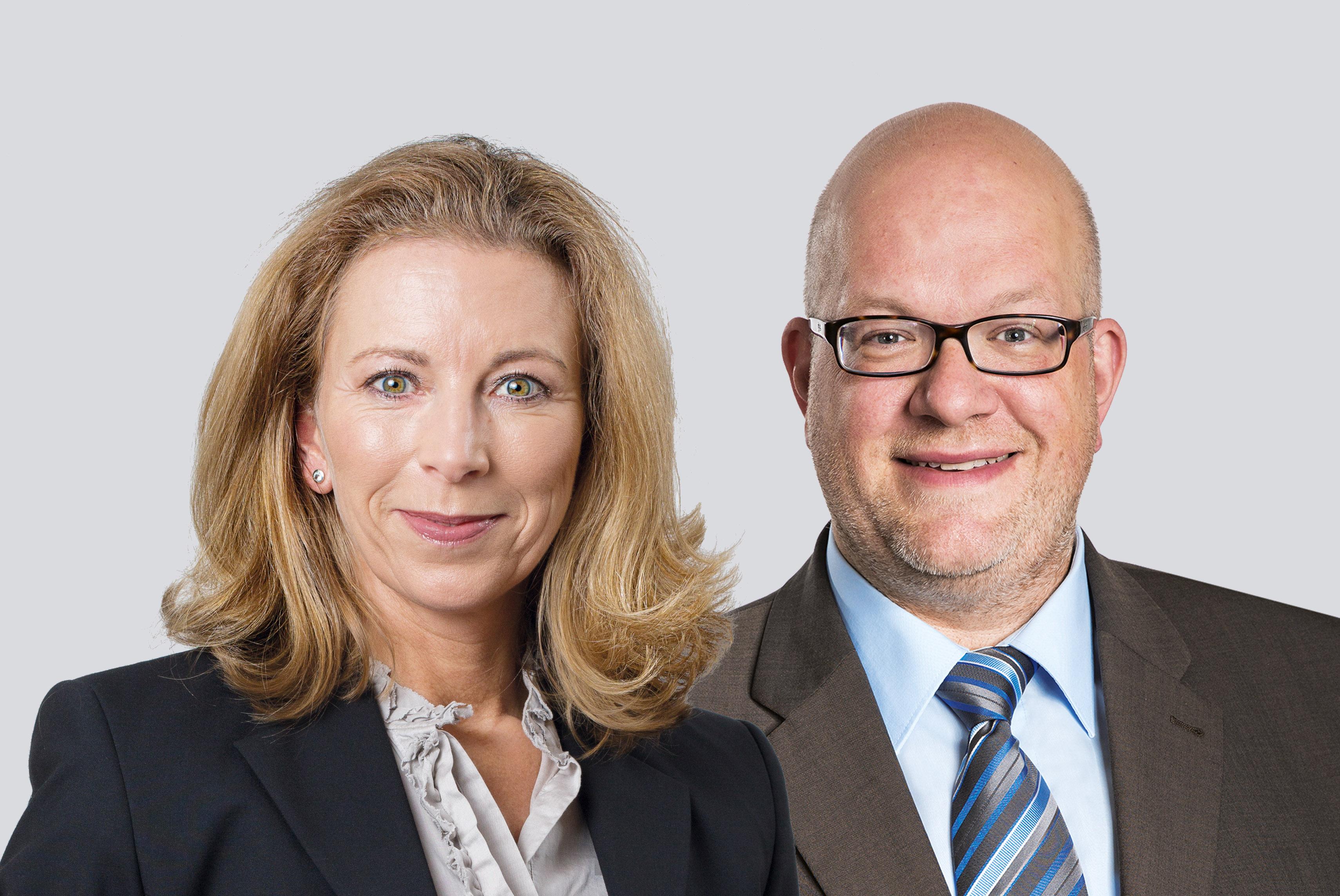 Stefanie Knecht und Sebastian Haag
