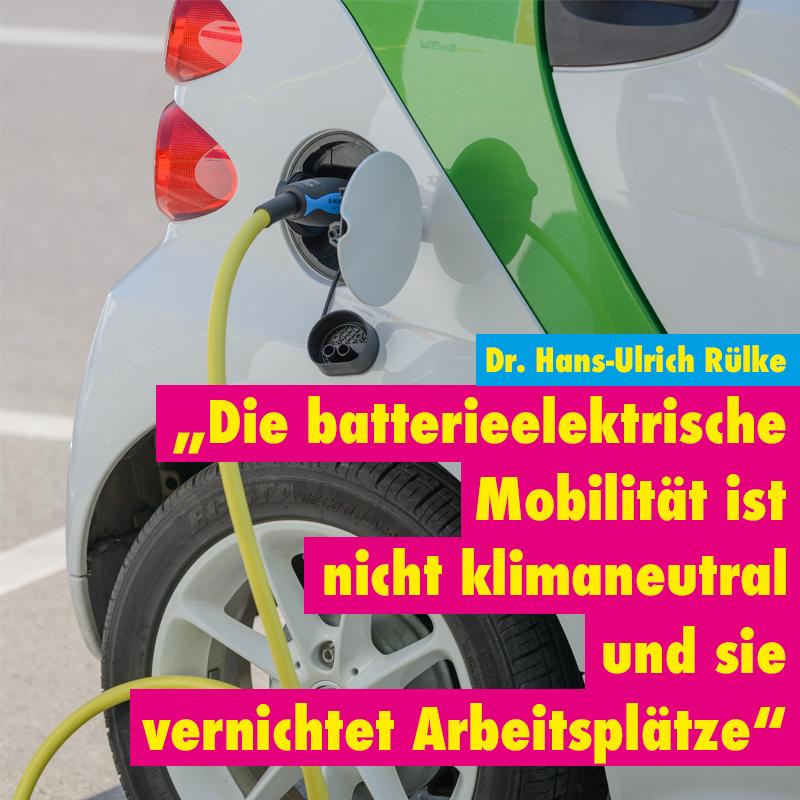 Rülke-Interview: Wasserstoff hat gegenüber der Batterie Vorteile