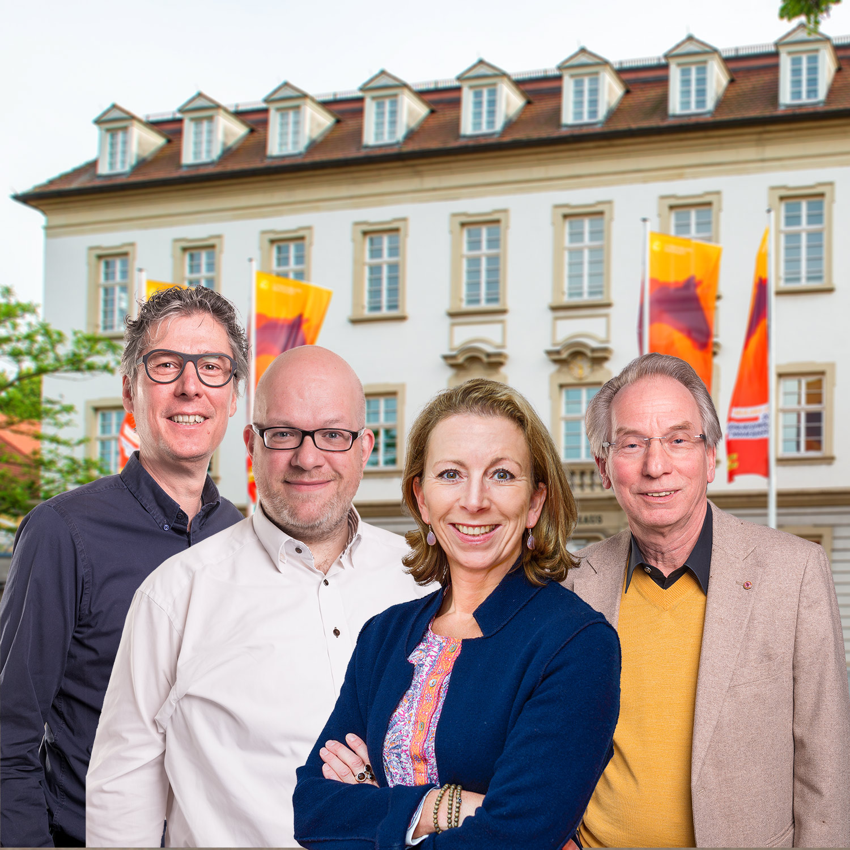 FDP-Stadträte Ludwigsburg: Jochen Eisele, Sebastian Haag, Stefanie Knecht, Johann Heer