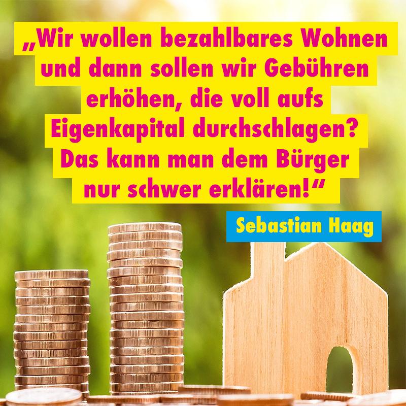FDP-Stadträte lehnen Gebührenerhöhung für Baugenehmigungen ab