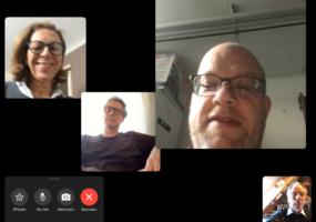 Fraktionssitzung in der Digitalpartei